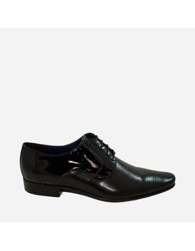 Zapato de Vestir Hombre Piel Cordones...