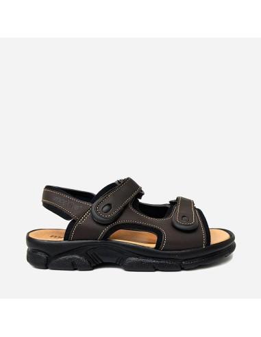 Sandalia Hombre Velcro 7001M Zankos...