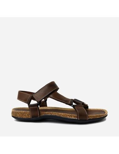 Sandalia Hombre Piel Velcro 900...