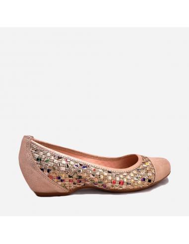 Zapato Salón Mujer Tipo Bailarina...