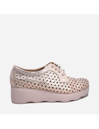 Zapato Deportivo Casual Mujer Piel...