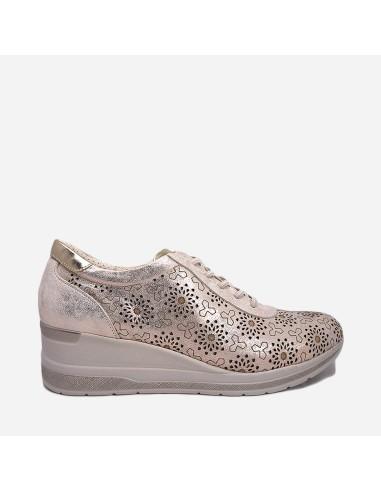 Zapato Deportivo Mujer Casual Con...
