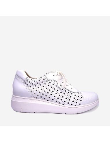 Zapato Mujer Cómodo Cordones 02901