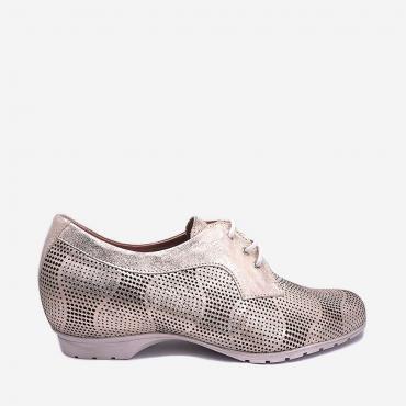Zapato Mujer Con Cordones...