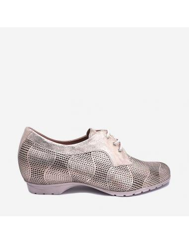 Zapato Mujer Con Cordones Pitillos 3003