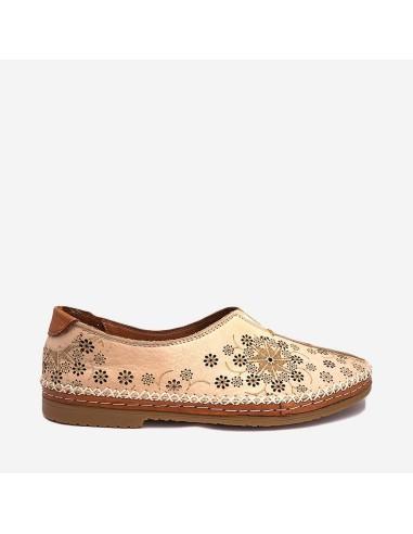Zapato Mujer Piel Cómodo 206-900...