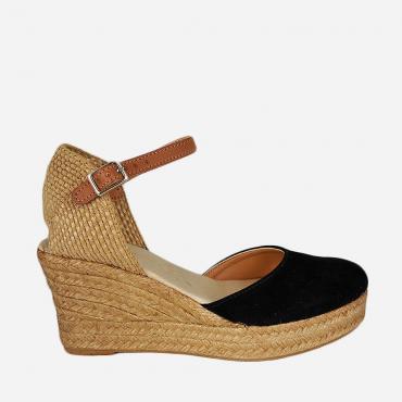 Sandalia de Mujer Piel Cuña...