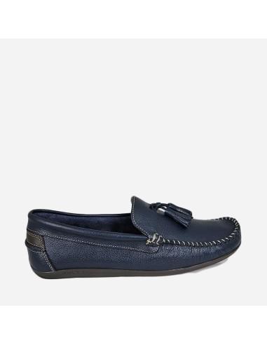 Zapato mocasín 1860