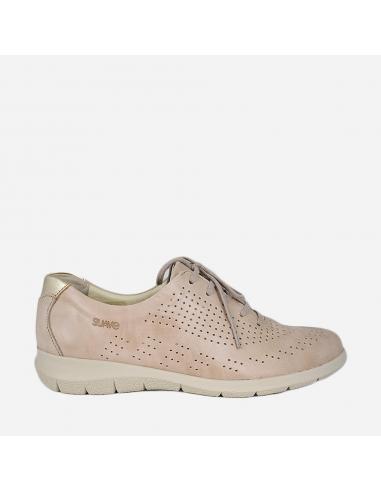Zapato Deportivo Mujer Con Cordones...