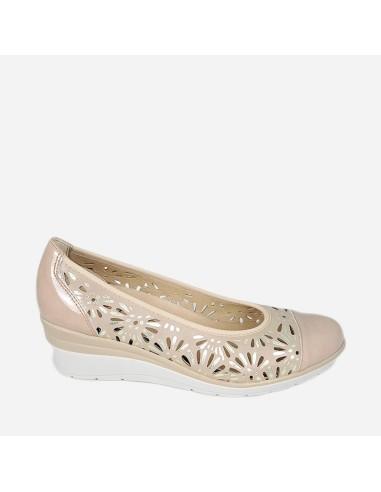 Zapato de Mujer Bailarina Piel...