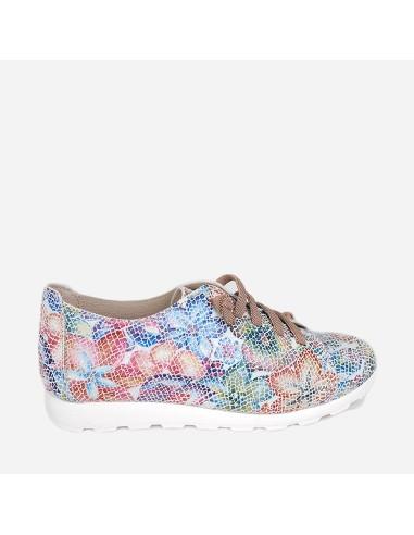 Zapato Deportivo Mujer Piel Casual...