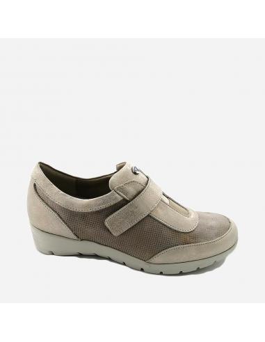Zapato Deportivo Mujer Con Velcro...