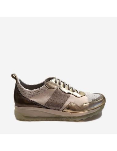 Zapato Deportivo Mujer Piel Dorking 8197