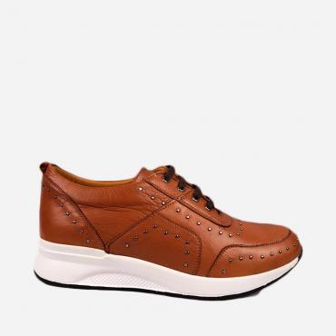 Zapato Deportivo Mujer Piel...