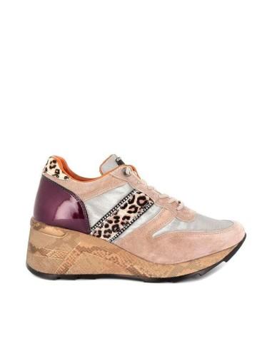 Zapato Deportivo de Mujer Piel Estilo...