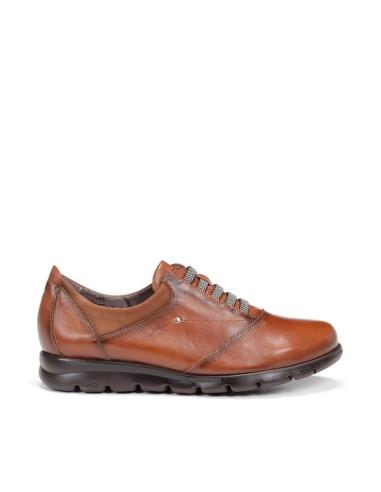 Zapato de Mujer Piel con Cordones...