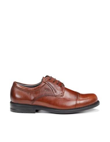 Zapato Hombre Piel Cordones Comodo...