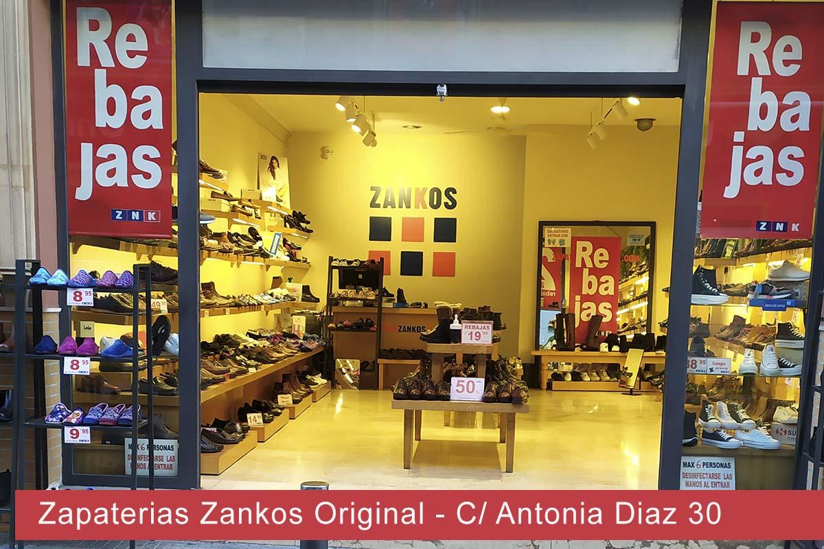 Zapaterías Zankos Original Calle Antonia Diaz 30 Dos Hermanas