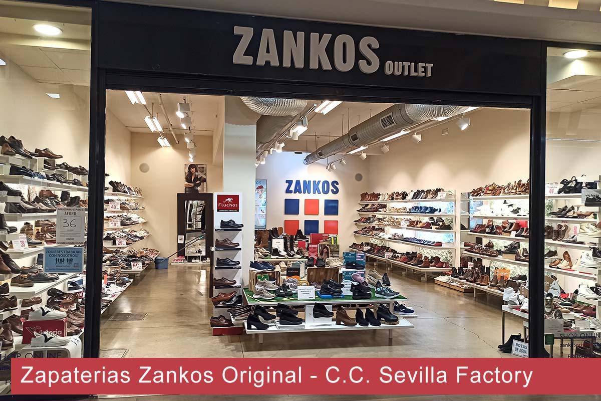 Zapaterías Zankos Original Centro Comercial Sevilla Factory Dos Hermanas
