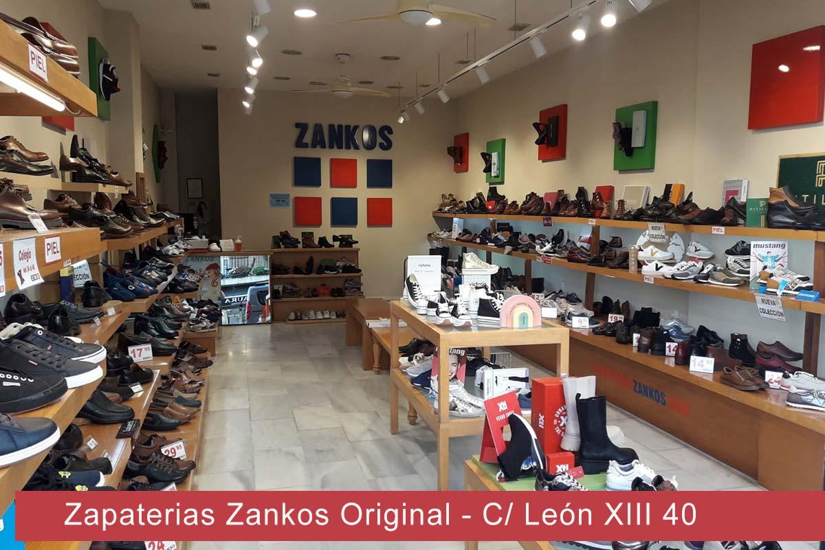 Zapaterías Zankos Original Sevilla Calle León XIII 40
