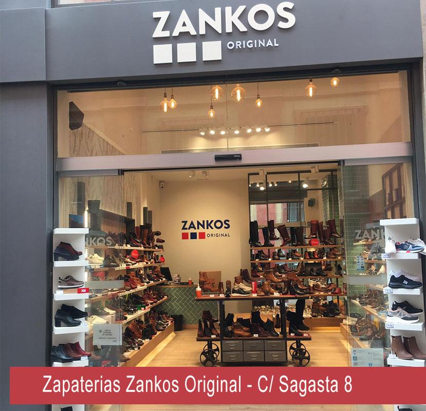 Zapaterías Zankos Original Sevilla Centro Calle Sagasta 8